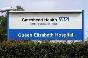 QUEEN ELIZABETH HOSPITAL, GATESHEAD - POST NATAL WARD
